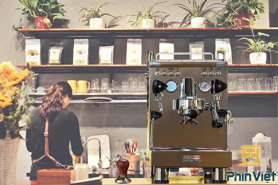 Máy pha cà phê Welhome KD 310