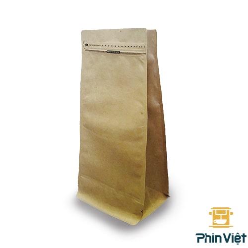 Túi kraft đựng hạt cà phê loại 1kg