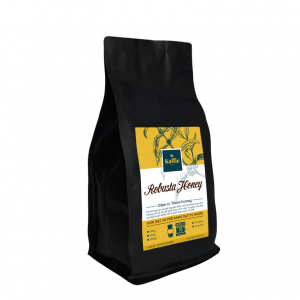 Cà phê hạt Kaffie Robusta Honey