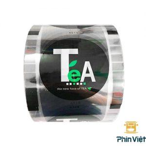 Màng dập cốc chữ Tea 3kg 2400 ly