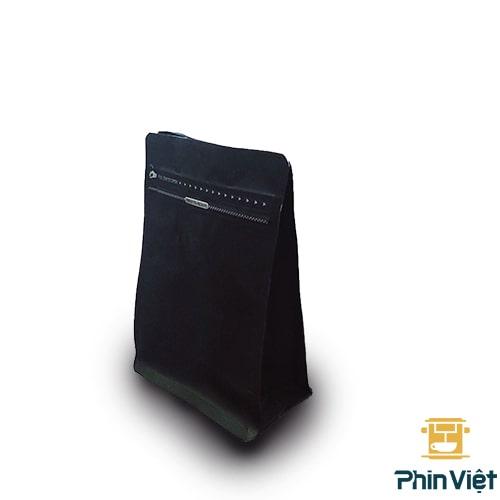 Túi đựng cà phê hạt loại 250gr - khóa zip, van 01 chiều nhiều màu