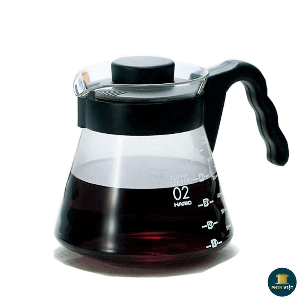 Bình đựng cà phê Hario V60 VCS - 02B (600ml)