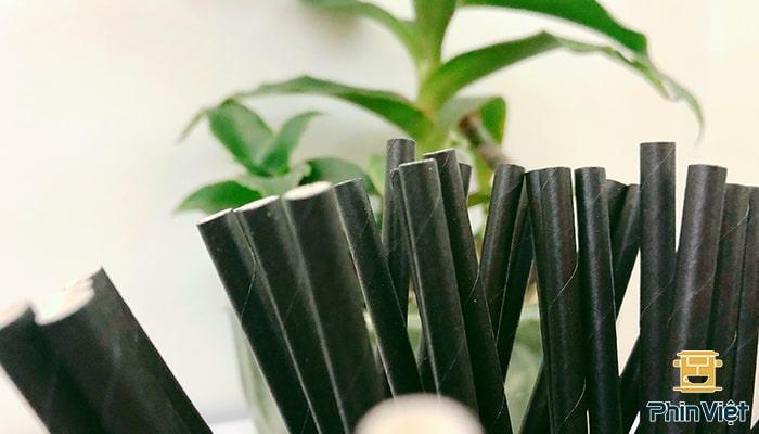 Ống hút giấy có đa dạng màu sắc