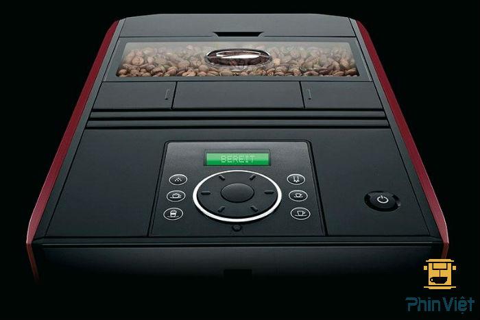 Jura Impressa A5 cho phép bạn có thể cài đặt các chức năng pha chế cà phê khác nhau
