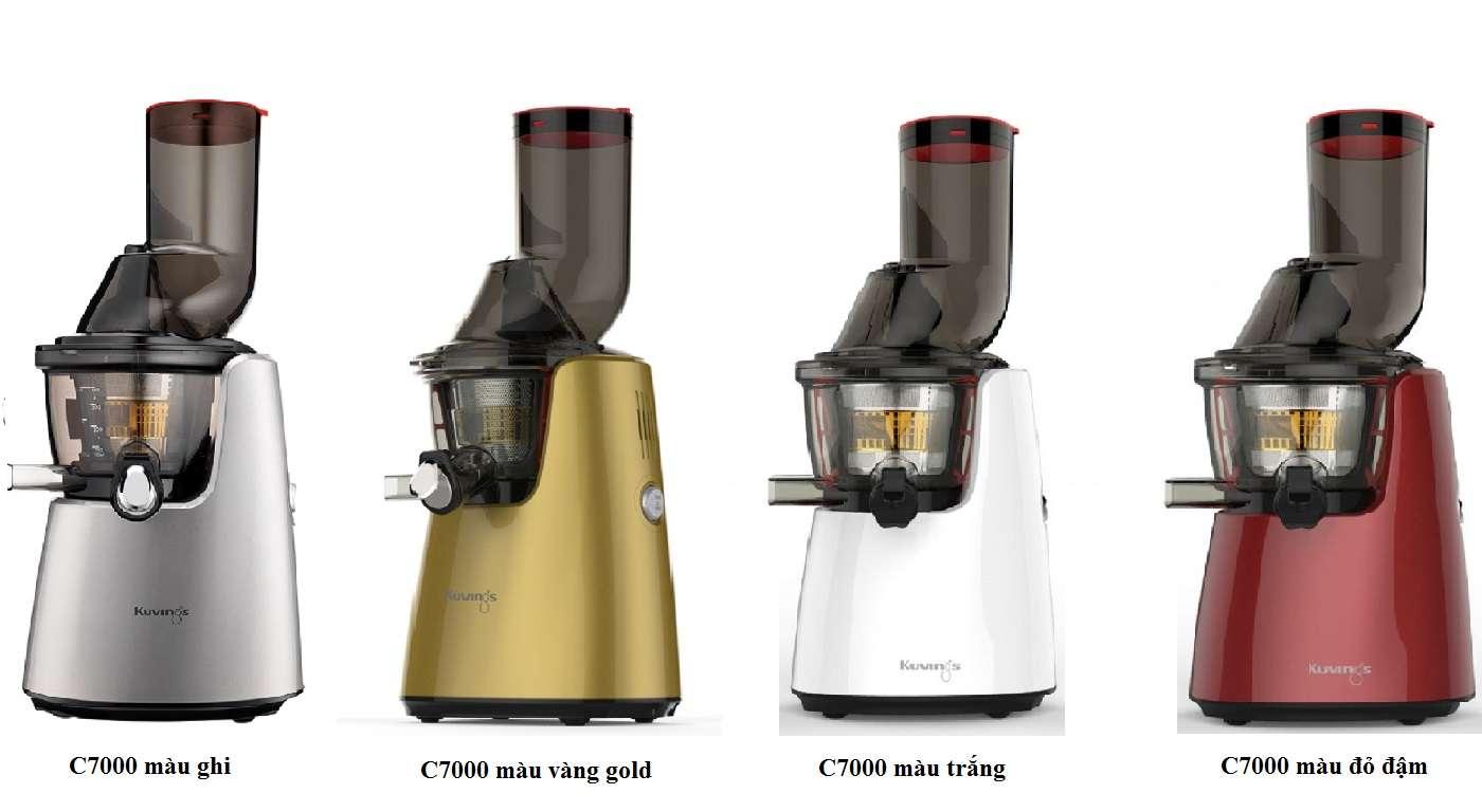 C7000 Plus có thiết kế màu sắc đa dạng hơn